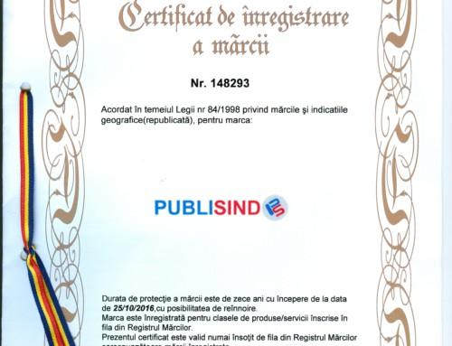 PUBLISIND- marca inregistrata