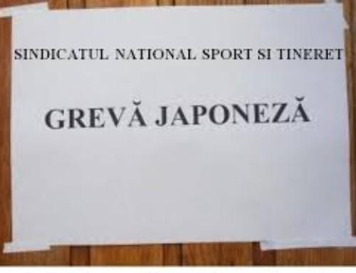 Comunicat de presa Sindicatul National Sport si Tineret