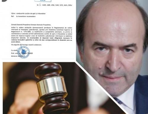 De ce se pierd procesele bugetarilor? Ministerul Justiției își bagă coada. AVEM DOCUMENTUL OFICIAL!