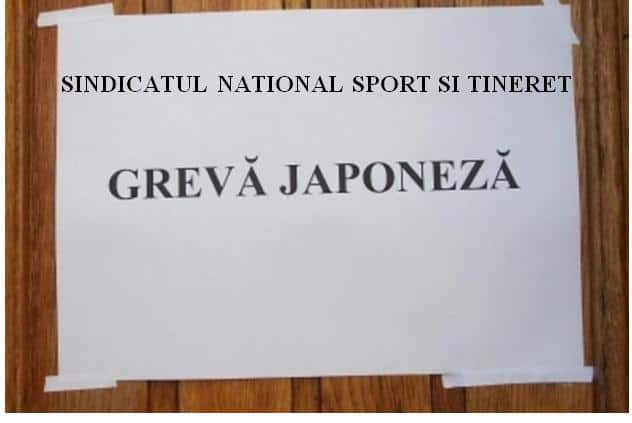 Sindicatului National Sport si Tineret- proteste la nivel national