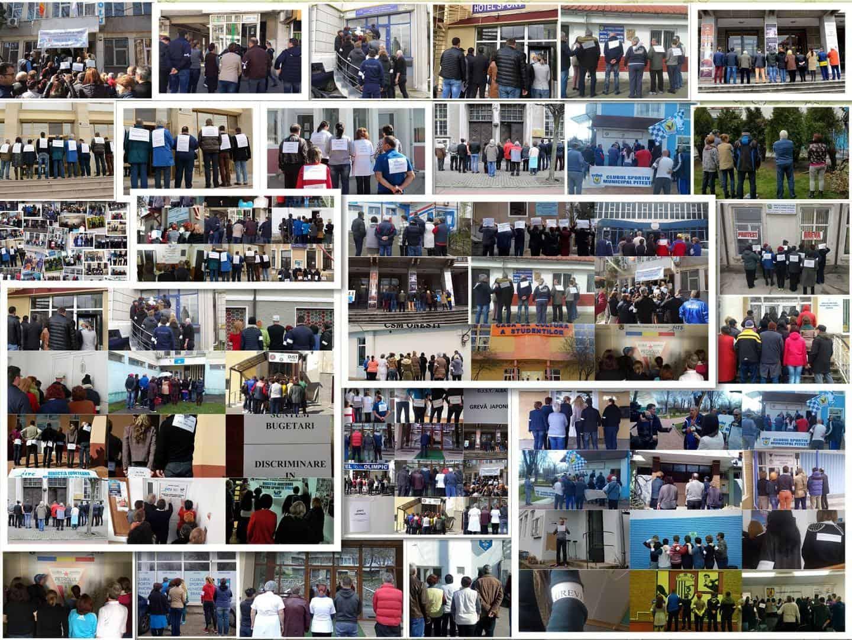 Comunicat de presă – Sindicatul Național Tineret și Sport pichetează Ministerul Tineretului şi Sportului