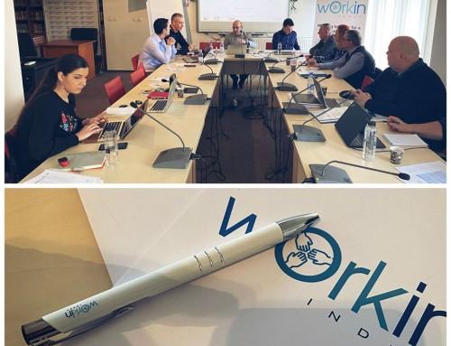 În perioada 3 – 4 martie 2020 au avut loc primele întâlniri de management din cadrul proiectului Workin Index