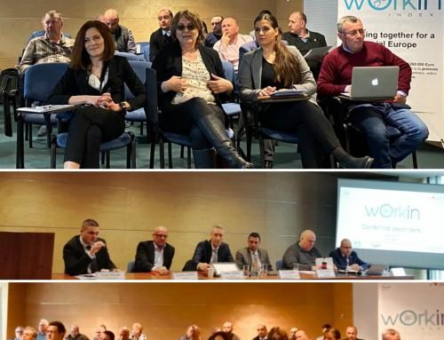 Conferința de deschidere a proiectului Workin Index – 5 martie 2020