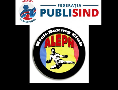 Ofertă sportivă nouă pentru membri: Club ALEPH și Federația PUBLISIND