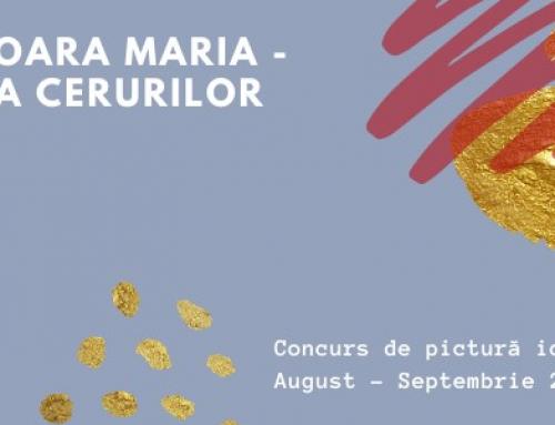 """Comunicat de presă: Sindicatul Culturalia organizează concursul de pictură de icoane pe lemn """"Sfânta Fecioară Maria – Împărăteasa Cerurilor"""""""