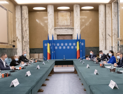 Presedintele PUBLISIND la intalnire cu Guvernul Romaniei, in delegatia BNS