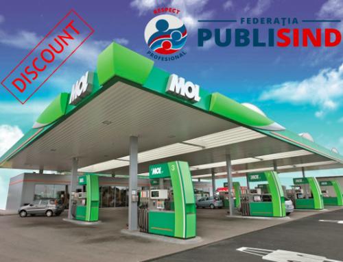 REDUCERI la carburanți pentru membrii Federației PUBLISIND – card MOL PARTNER MULTIBONUS