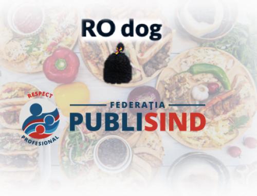 10% reducere la produse tradiționale pentru membrii PUBLISIND. Noul parteneriat RO dog – Federația PUBLISIND